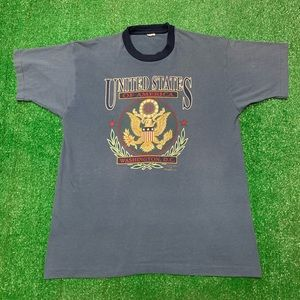Vintage United States Washington DC Seal  Shirt